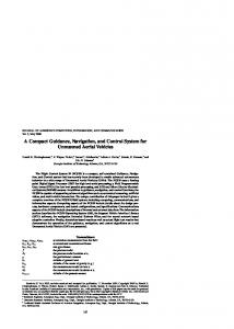 A Compact Guidance, Navigation, and Control System for Unmanned Aerial Vehicles