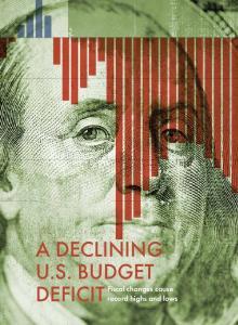 A DECLINING U.S. BUDGET DEFICIT