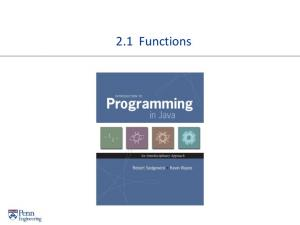 A Foundation for Programming