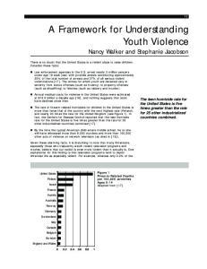 A Framework for Understanding Youth Violence