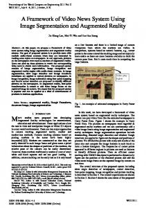 A Framework of Video News System Using Image Segmentation and Augmented Reality