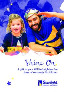 A gift in your Will to brighten the lives of seriously ill children