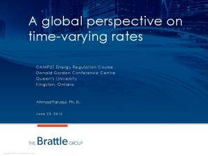 A global perspective on time-varying rates