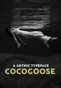 A GOTHIC TYPEFACE COCOGOOSE