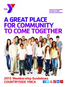 A GREAT PLACE FOR COMMUNITY TO COME TOGETHER