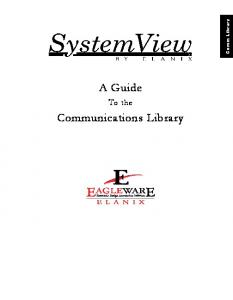 A Guide. Communications Library