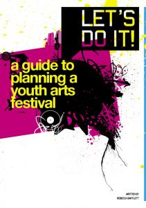 a guide planning festival