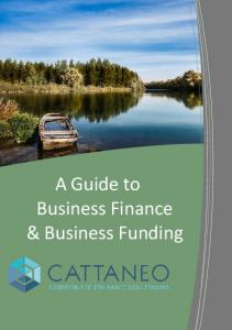 A Guide to Business Finance & Business Funding
