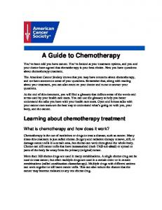 A Guide to Chemotherapy