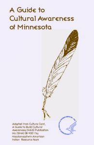 A Guide to Cultural Awareness of Minnesota