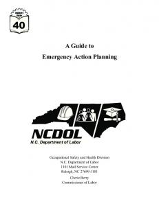 A Guide to Emergency Action Planning
