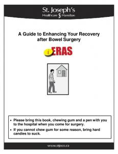 A Guide to Enhancing Your Recovery after Bowel Surgery