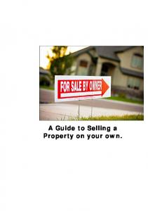A Guide to Selling a Property on your own