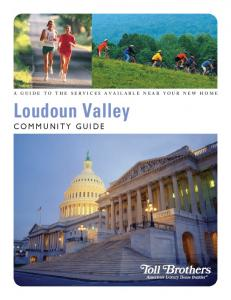 A Guide to the services available near your new home. Loudoun Valley Community Guide