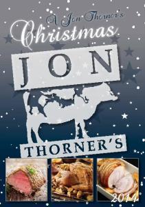A Jon Thorner s. Christmas