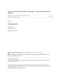 A Journal of Cultural Studies