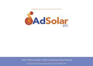 A leading Solar-PV EPC Company