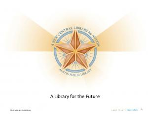 A Library for the Future