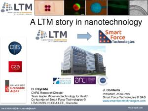A LTM story in nanotechnology