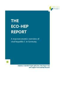 A macroeconomic overview of viral hepatitis C in Germany