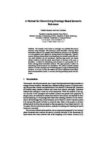 A Method for Determining Ontology-Based Semantic Relevance