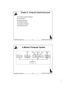 A Modern Computer System