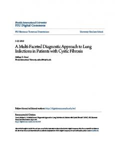 A Multi-Faceted Diagnostic Approach to Lung Infections in Patients with Cystic Fibrosis