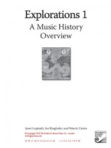 A Music History Overview