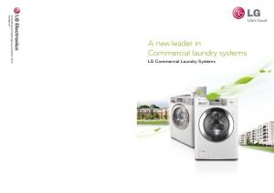 A new leader in Commercial laundry systems