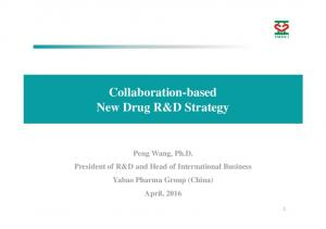 A New Model for International China New Drug R&D Strategy