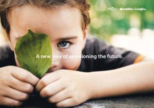 A new way of envisioning the future