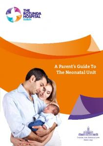 A Parent s Guide To The Neonatal Unit