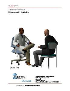 A Patient s Guide to Rheumatoid Arthritis