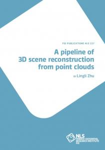 A pipeline of 3D scene reconstruction from point clouds
