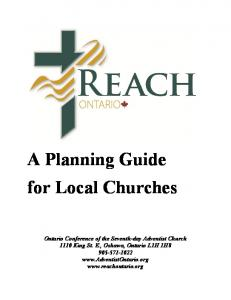 A Planning Guide for Local Churches
