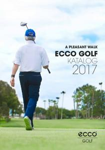 A PLEASANT WALK ECCO GOLF KATALOG