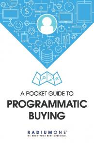 A POCKET GUIDE TO PROGRAMMATIC BUYING