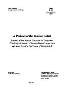 A Portrait of the Woman Artist