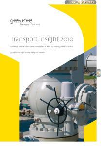 A publication of Gasunie Transport Services