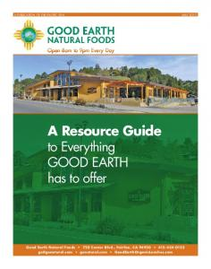 A Resource Guide to Everything GOOD EARTH has to offer