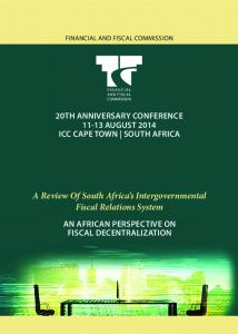 A Review Of South Africa s Intergovernmental Fiscal Relations System