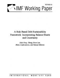 A Risk-Based Debt Sustainability Framework: Incorporating Balance Sheets and Uncertainty