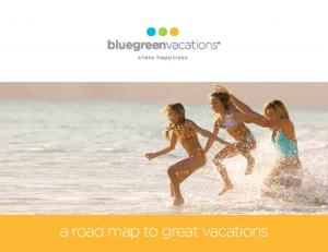 a road map to great vacations