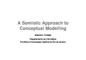 A Semiotic Approach to Conceptual Modelling Antonio L. Furtado