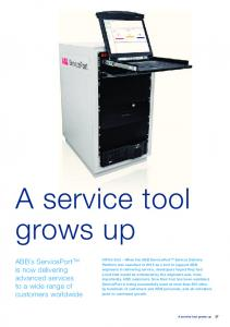 A service tool grows up