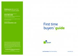A step-by-step guide to buying your first home