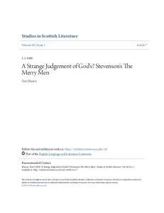 A Strange Judgement of God's? Stevenson's The Merry Men