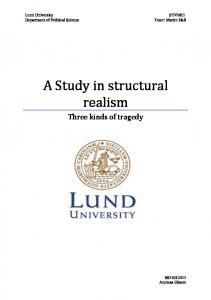 A Study in structural realism
