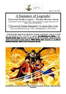A Summer of Legends!