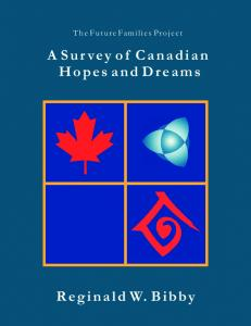 A Survey of Canadian Hopes and Dreams